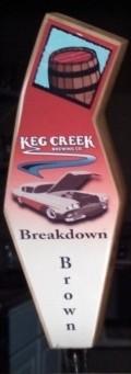 Keg Creek Breakdown Brown Ale