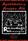 Raindogs Apothecary Amber Ale