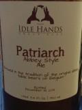 Idle Hands Craft Ales Patriarch