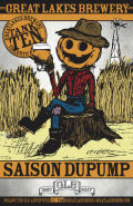 Great Lakes Brewery Saison Dupump
