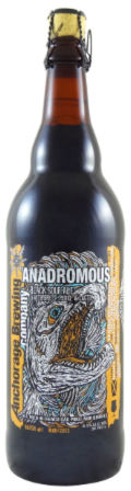 Anchorage Anadromous Belgian Black Bier