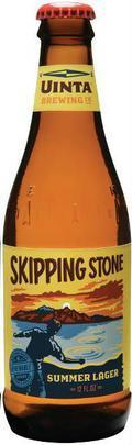 Uinta Skipping Stone Summer Lager