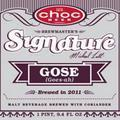 Choc Brewmasters Signature Michael Lalli Gose