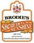 Brodies Shoreditch Sunshine