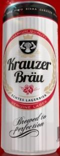 Krauzer Bräu Echtes Lagerbier