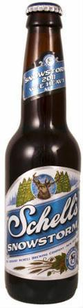 Schell Snowstorm (2011 - Wee Heavy Traditional Scotch Ale)