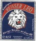 Bräunlinger Löwenbräu Weisser Leo