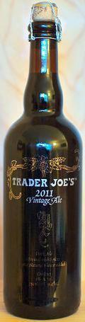 Trader Joe's Vintage Ale 2011