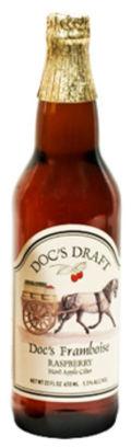 Doc's Draft Hard Raspberry Cider (Framboise)