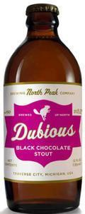 North Peak Dubious Black Chocolate Stout