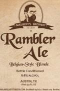Adelbert's Rambler Ale