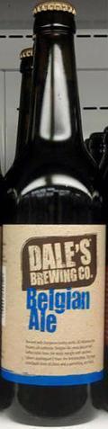 Dale's Belgian Pale Ale