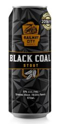 Railway City Black Coal Stout