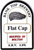 Bank Top Flat Cap