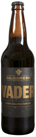 Gilgamesh Vader Cascadian Dark Ale Brewed with Coffee