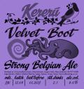 Kereru Velvet Boot