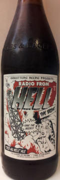 Squatters Radio From Hell the Brew! Red as Hell Ale