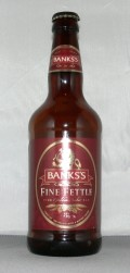 Banks's Fine Fettle (Bottle)
