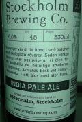 Stockholm India Pale Ale