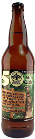 2 Towns 50 Mile Cider