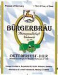 Bürgerbräu Wolnzacher Oktoberfest-Bier