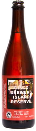 Cisco Island Reserve Tripel Ale