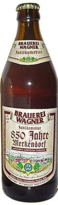 Brauerei Wagner Jubiläumsbier 850 Jahre Merkendorf