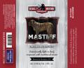 Railhouse Mastiff Oatmeal Stout