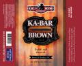 Railhouse Ka-Bar Brown Ale