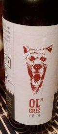 Boone Valley Ol' Griz Barley Wine