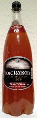 Loïc Raison Cidre Traditionnel (5%)