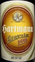 Hartmann Erbschänk 1550