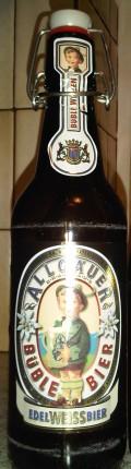 Allgäuer Büble Bier Edel Weissbier