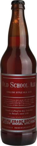 Below Grade Old School Ale