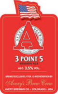 Avery 3Point5 India Session Ale