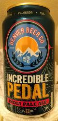 Denver Beer Incredible Pedal IPA