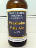 North Riding Brewpub Peasholm Pale Ale