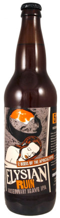 Elysian 12 Beers of Apocalypse # 5 - Ruin Rosemary Agave IPA