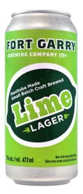 Fort Garry Lime Lager