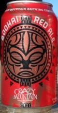 Crazy Mountain Boohai Red Ale (Kura Koa)