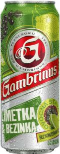 Gambrinus Limetka & Bezinka