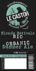 Le Castor Blonde Estivale Summer Ale