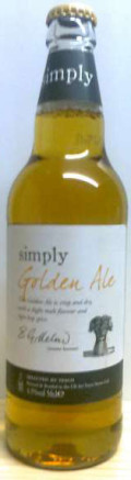 Tesco Simply Golden Ale
