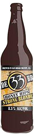 Latitude 33 Carolina Honey Hips Strong Blonde Ale