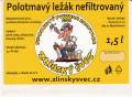 Zlínský Švec Polotmavý Ležák