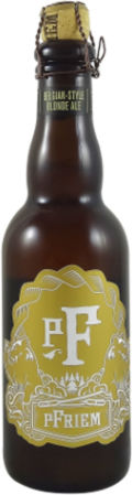 pFriem Belgian Strong Blonde