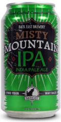 Back East Misty Mountain IPA