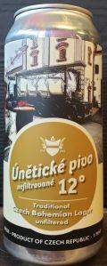 Únětické Pivo 12° Nefiltrované