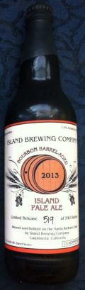 Island Bourbon Barrel Aged Pale Ale