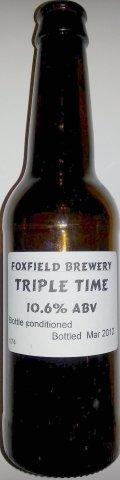Foxfield Triple Time